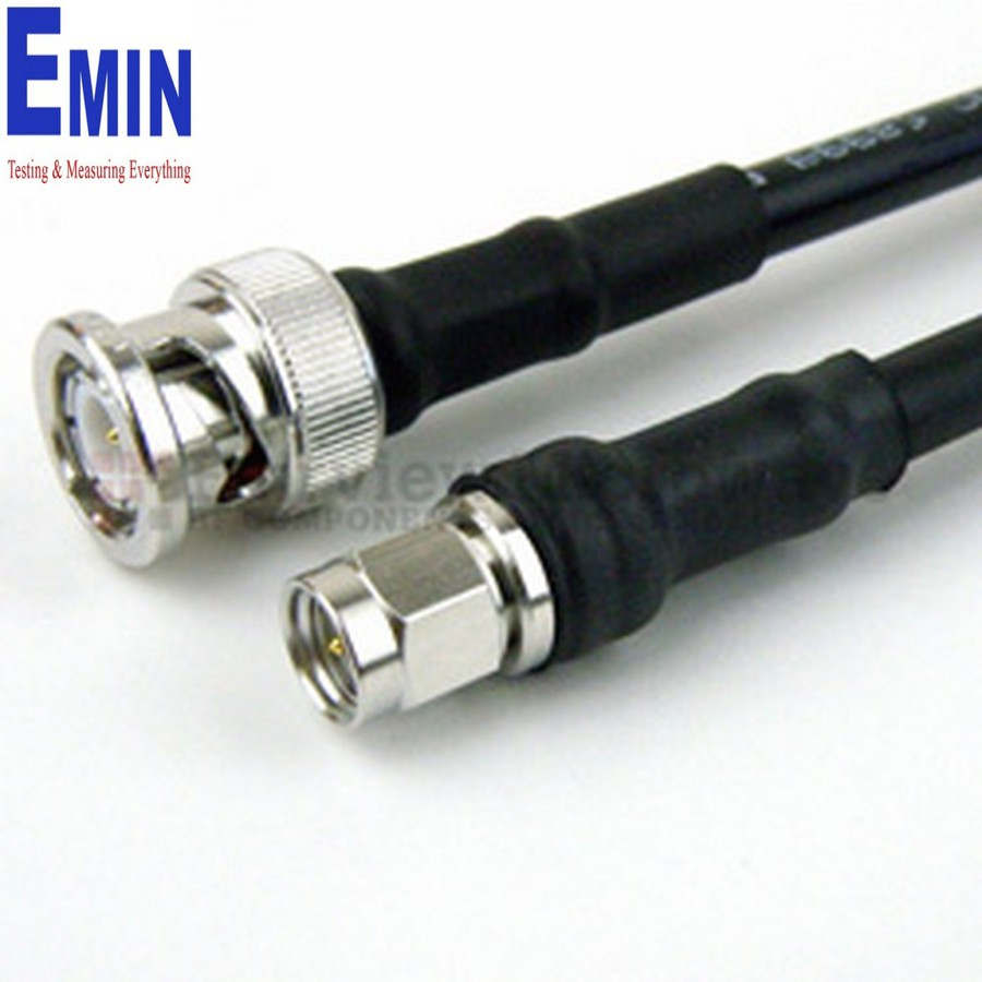 """36"""" Fairview SCA49141 SMA Male to SMA Male Cable SF-141 Coax and RoHS Compliant"""