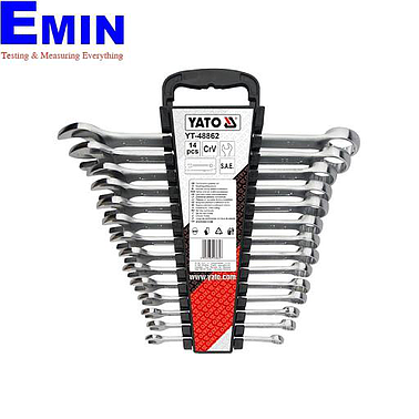 Yato YT-48862 Combination spanner set 14pcs