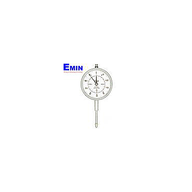 TECLOCK KM-121Df Long Stroke Dial Indicator (20mm/0.01mm; Flat back)