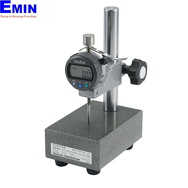 TECLOCK PG-01J Constant Pressured Thickness Measuring Instrument (12mm/0.001mm)(Stand-type)