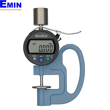 TECLOCK PF-01J Constant Pressured Thickness Measuring Instrument (12mm/0.001mm)(Frame-type)