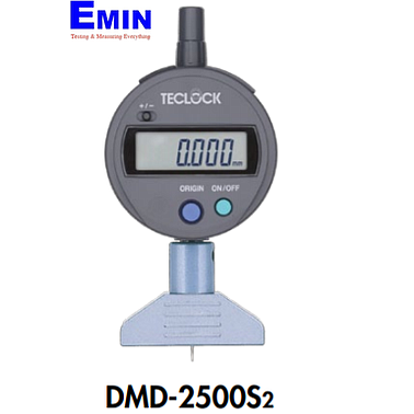 TECLOCK DMD-2500S2 Conventional Digital Depth Gauge (5mm/0.001mm)